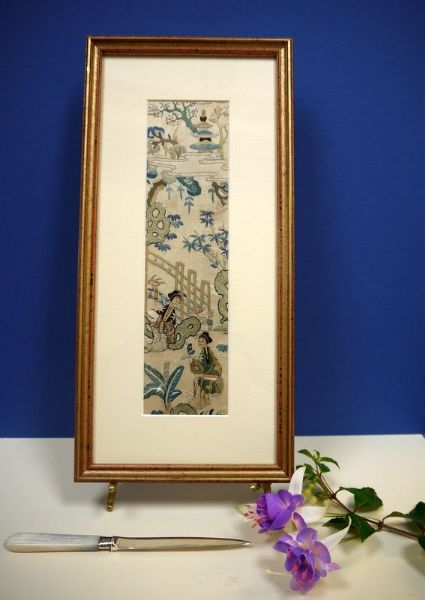 Early 1900's Chinese Embroidery - Emb 666